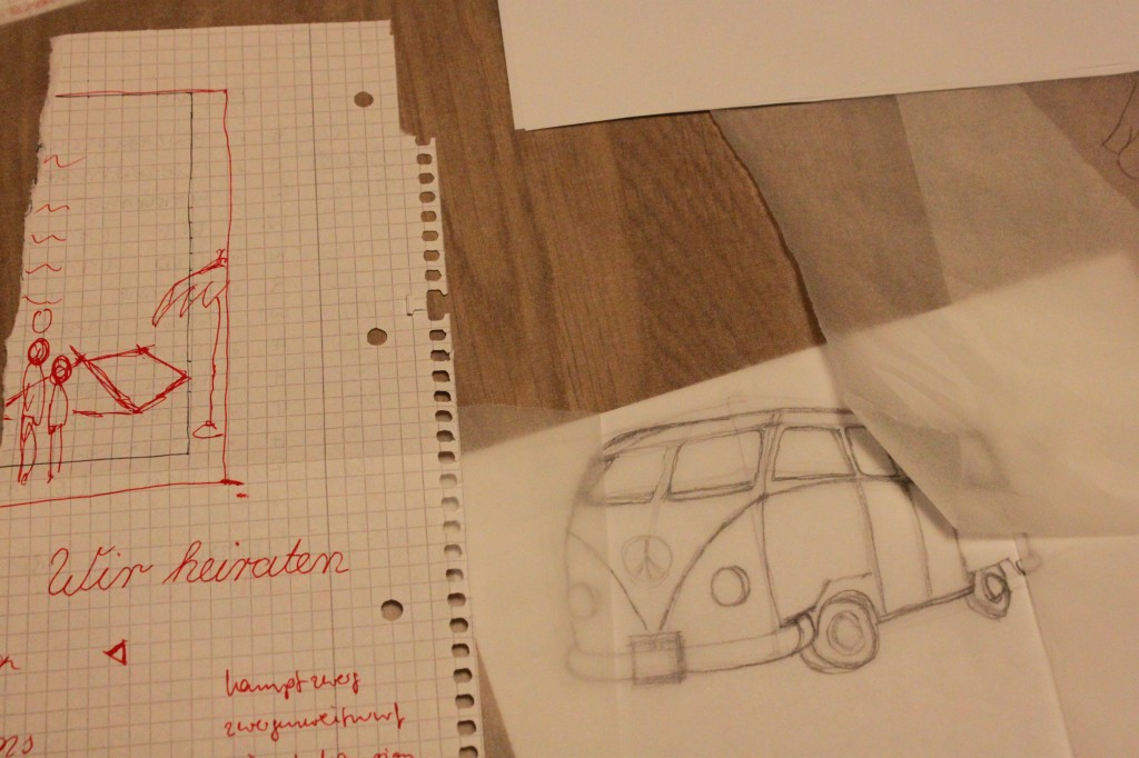 die Zeichnungen werden schon etwas detaillierter