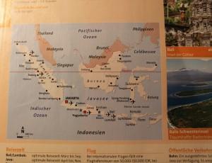 Auf nach Indonesien!